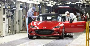Mazda начала серийное производство нового MX-5