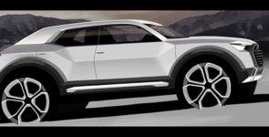 Новый кроссовер Audi Q1 получит две спецверсии