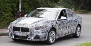 BMW приступил к тестированию седана 1-Series