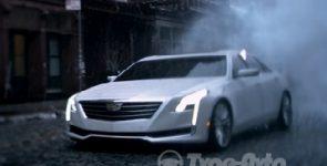 Cadillac CT6 рассекретят до премьеры в Нью-Йорке