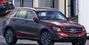 Mercedes почти завершила испытания кроссовера GLC