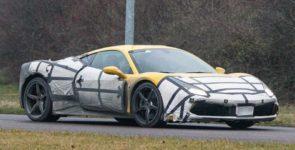Мировая общественность познакомится с новым суперкаром Ferrari 488 GTB в Женеве