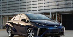 Названа стоимость водородного автомобиля Toyota Mirai