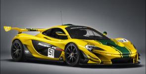 McLaren представила P1 GTR
