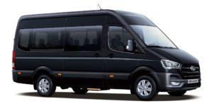 Hyundai выводит на мировой рынок свои микроавтобусы