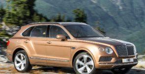 Экономичная версия Bentley Bentayga