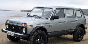 Окончание выпуска Lada 4×4