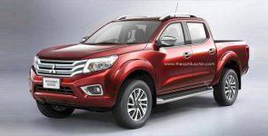 Mitsubishi выступит с пятым поколением L200 на мотор-шоу в Женеве