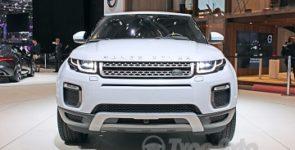 На автосалоне в Женеве представили обновленный Range Rover Evoque
