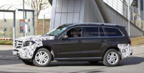 Mercedes-Benz проводит испытания внедорожника GLS в Германии