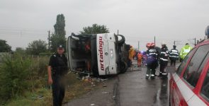 В России произошло ДТПс участием украинского автобуса