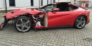 Какова стоимость разбитого автомобиля?