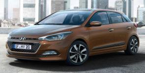 Рестайлинговый Hyundai i20 (2014)