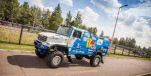 Первый спортивный грузовик от компании «КАМАЗ-мастер»
