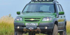 Спецверсия внедорожника Chevrolet Niva