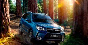 Специальный внедорожник Subaru для российского рынка