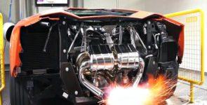 Capristo Lamborghini Aventador: дыхание дракона