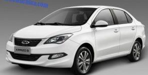 Chery объявила цены седана Arrizo 7 с 1,5-литровым турбомотором