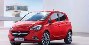 Opel Corsa 2014 с новым лицом