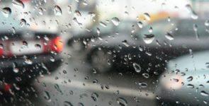 Правила езды в сильный дождь
