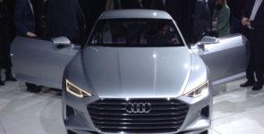 Концепт Audi Prologue представили официально
