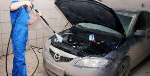 Как правильно мыть автомобильный мотор?