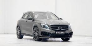 Немецкое тюнинг-ателье BRABUS «прокачало» кроссовер Mercedes GLA AMG
