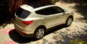 Hyundai обновила модели Santa Fe и Santa Fe Sport
