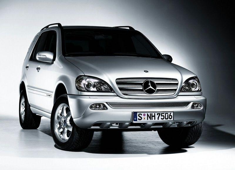 Обзор автомобиля Mercedes ML М-230