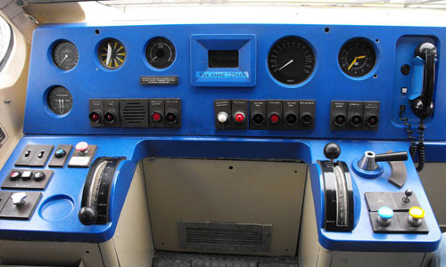 кабина машиниста